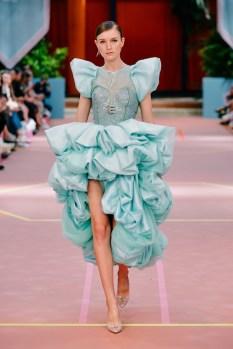 Fashion Show der Designerin Marina Hoermanseder während der Berliner Fashion Week (Foto Stefan Kraul)