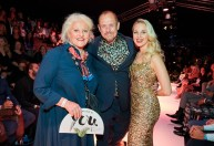 Eröffnungsabend der MQ Vienna Fashion Week 2019 - Marika Lichter, Gery Keszler, Silvia Schneider (Foto Starpix /Alexander Tuma)