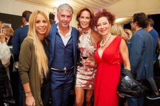Eröffnungsabend der MQ Vienna Fashion Week 2019 - Yvonne Rueff, Kathi Stumpf, Christina Lugner (Foto Starpix /Alexander Tuma)