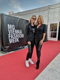 MQVFW 2019: CALLISTI Fashion Show - Hedi Grager und Irene Mayer (Foto privat)