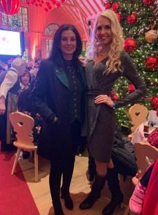Beatrice Körmer traf auf Gut Aiderbichl Sonja Klima, Chefin der Spanischen Hofreitschule. (Foto privat)
