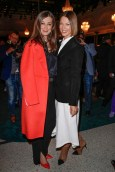 Marc Cain Fashion Show: Alexandra Maria Lara und Jessica Schwarz. (Photo by Franziska Krug/Getty Images for Marc Cain)