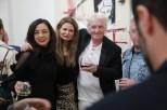 Solo-Ausstellung des Künstlers Alessandro Painsi in Los Angeles. Grammy Gewinnerin Paulina Aguirre, Lea Wolf-Millesi, Peter Wolf und David Dubinsky (Photo Eric Minh Swenson)