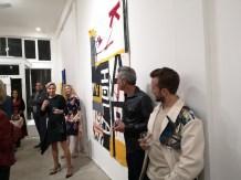 Ausstellung des Künstlers Alessandro Painsi in Los Angeles. (Photo Reinhard Sudy)