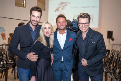 BRANDBOXX & STYLE UP YOUR LIFE! Fashion Night: Michael Lameraner, Katharina Krassnitzer, Markus Oberhamberger und Adi Weiss (Foto Moni Fellner
