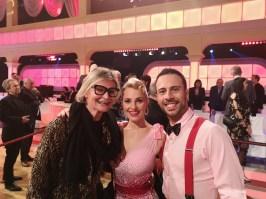 Dancing Stars 2020: Hedi Grager mit den Stars Silvia Schneider & Danilo Campisi. (Foto privat)