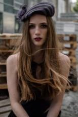 Model Sarah Kühschweiger (Foto Daniel Schaler)
