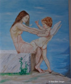 Bild Stan Bert Singer: Did Venus loose the fight against Cupid 2017 (Foto Stan Bert Singer)