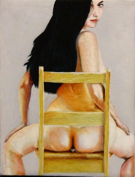 "Stan Bert Singer: ""Girl on chair"" (Foto Stan Bert Singer)"