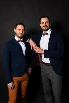 Aiola Grande Opening Operncafe - Geschäftsführer AlexanderRobin und Gernot Büttner-Vorraber. (Foto Jauk Katharina)