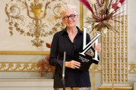 Vienna Awards for Fashion and Lifestyle 2020 - Gewinnerin Inge Prader. (Foto Katharina Schiffl)