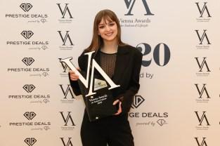 Vienna Awards for Fashion and Lifestyle 2020 - Gewinnerin Nadine Gurtner. (Foto Katharina Schiffl)