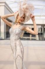 """Miss Vienna Beatrice Körmer bei der Eröffnung der Designers Districts Galerija im modernsten Teil Belgrads """"BW Belgrad Waterfront"""" mit den serbischen Topdesignern Zvonko Marković, Danijela Bozic und Dragan Smiljanic. (Foto @zoranmircetic @art_utopia_studio)"""