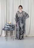 """Stardesignerin Eva Poleschinski präsentierte ihre erste Homewear Kollektion """"Indoor + Outside"""". (Foto Oliver Rathschueler)"""