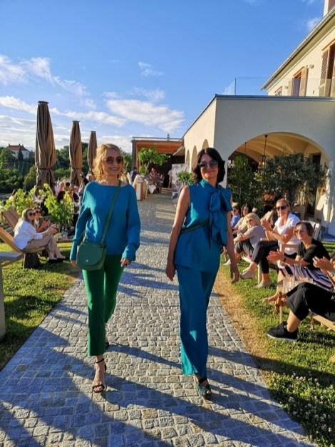 Fashion- und Brillen-Show am Kogel3. (Foto Reinhard Sudy)
