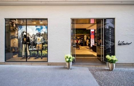 Der neue Luis Trenker Store in Salzburg. (Foto Kolarik Andreas)