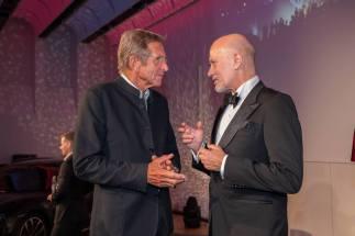 Schmuckstars Awards 2021 im Hotel Andaz am Belvedere, Hans Schullin und Christian Lerner. (Foto Andreas Tischler)