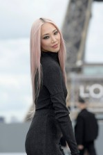 """PARIS, FRANCE - OCTOBER 03: Soo Joo Park walks the runway during """"Le Defile L'Oreal Paris 2021"""" as part of Paris Fashion Week on October 03, 2021 in Paris, France. (Photo by Kristy Sparow/Getty Images for L'Oreal)"""