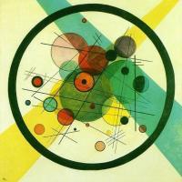 Vassily Kandinsky - Cercles Dans Un Cercle 1923