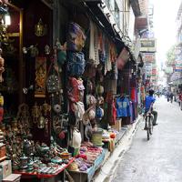Népal Kathmandou Thamel