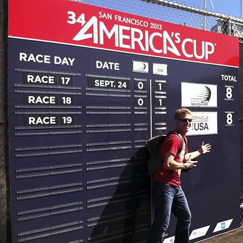 San Francisco - America Cup Resultat 18eme course