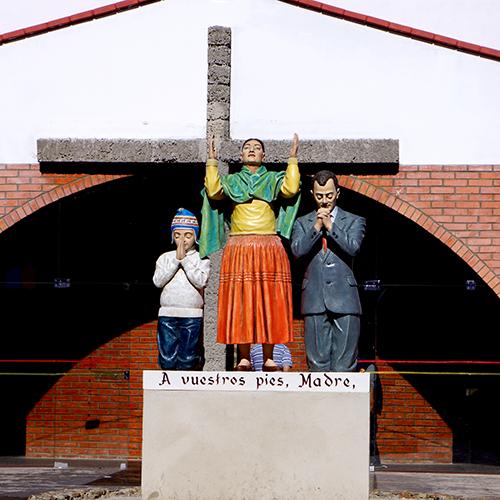Copacabana Bolivie - A vuestros pies Madre