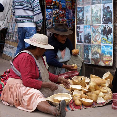 Sucre Bolivie - Calebasses