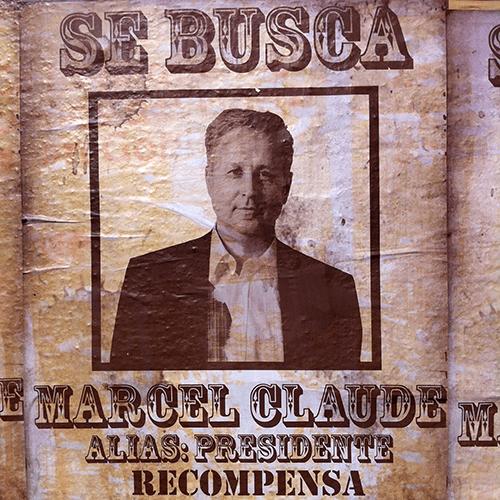 Chili / Affiche Electorale - Marcel Claude