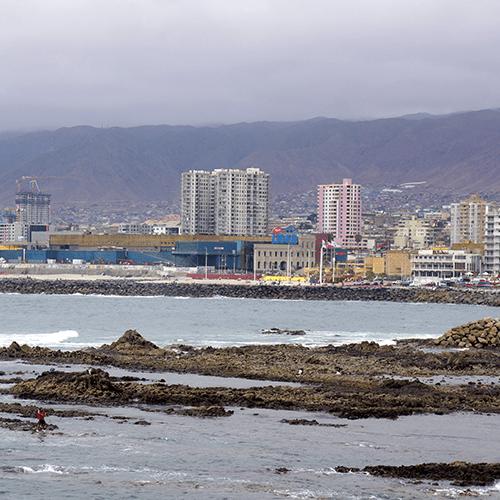 Chili / Antofagasta - Front De Mer