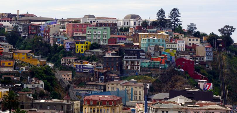 Chili - Valparaiso / Cerro Artilleria