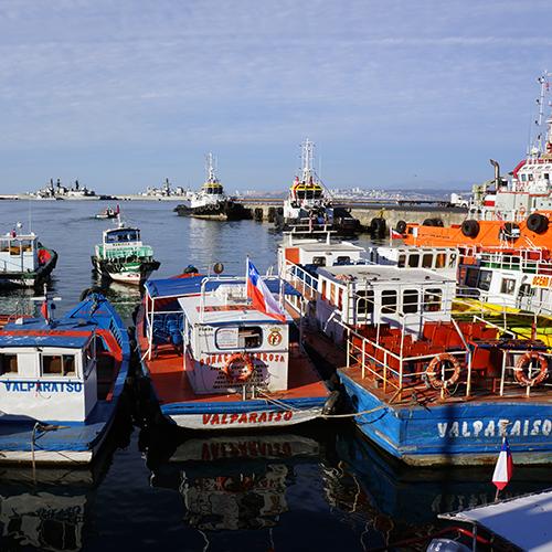 Chili - Valparaiso / Le Port