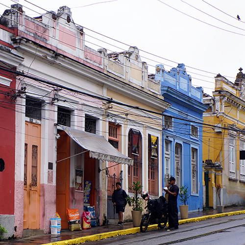 Brésil - Rio de Janeiro / Santa Teresa - Rua Progresso