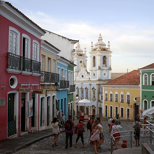 Brésil - Salvador De Bahia / Pelourinho