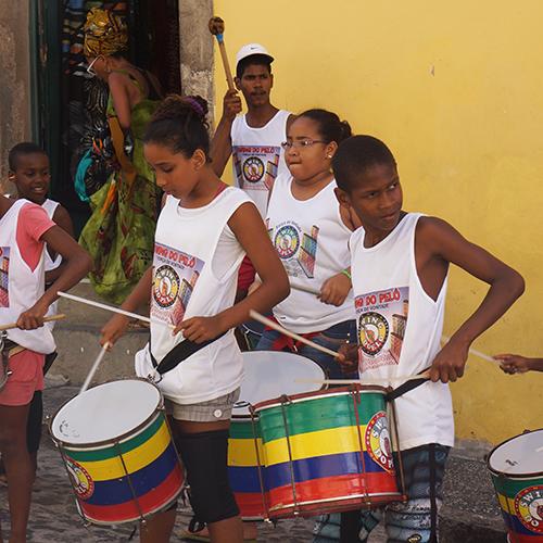 Brésil - Salvador De Bahia / Percussions (Swing do Pelô)