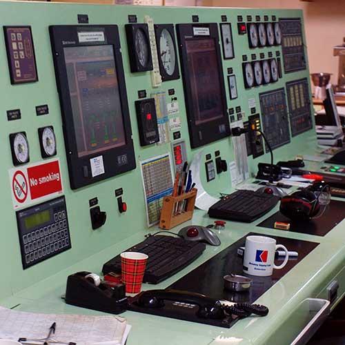 Cargo CMA-CGM_Platon / Salle Machine