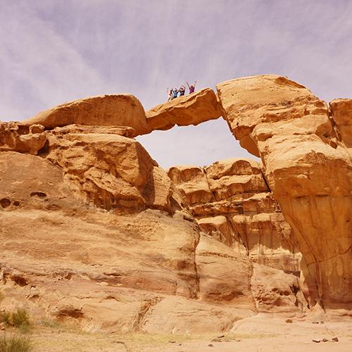 Wadi Rum - Arche Um Fruth