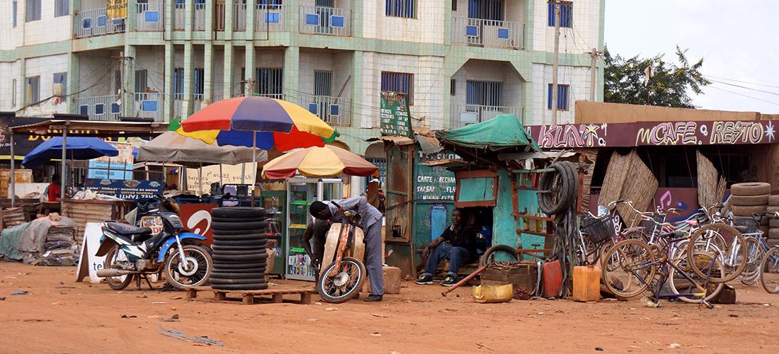 Ouagadougou Rue