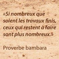 Proverbe bambara