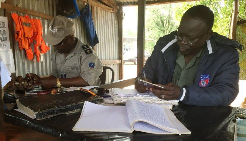 Burkina Faso - Police Frontiere de Yendere