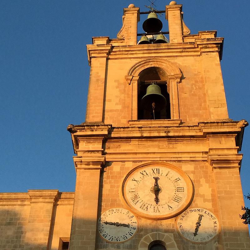 Malte - La Valette / Clocher Co-cathédrale St Jean