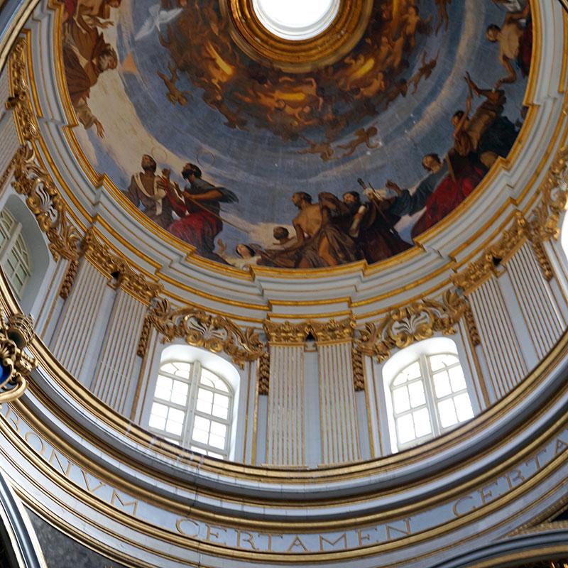 Malte - Mdina / Dome Cathedrale Saint Pierre et Saint Paul