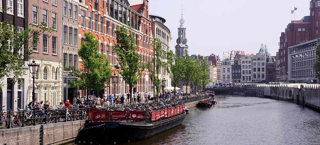 Amsterdam en roue libre