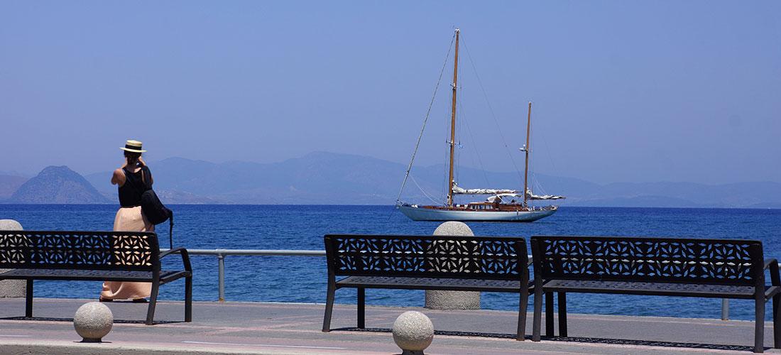 En Grèce, Kos livre ses graines de soleil