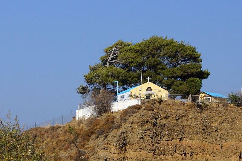Grèce Kos Eglise dans la montagne