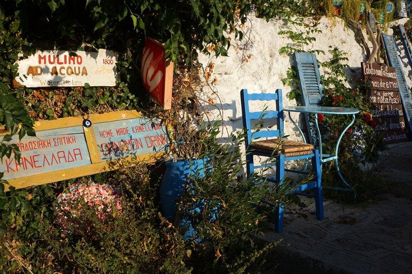 Grèce Kos - Zia : cfé