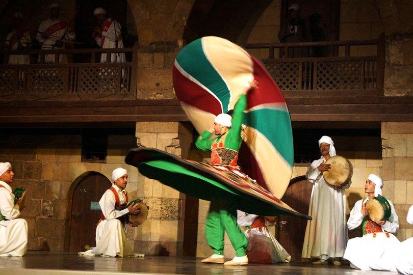 Derviches tourneurs - danseurs soufis du Caire