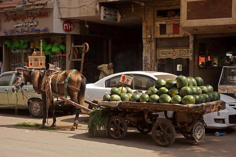 Le Caire - Vendeur ambulant