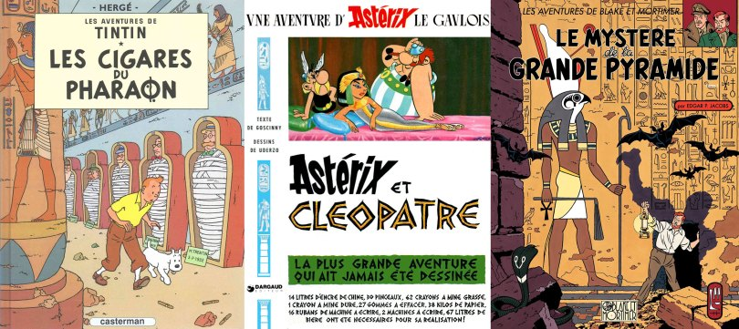 Egypte - bandes dessinées
