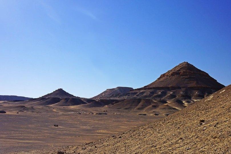 Egypte - Al-Bahariya, : Désert noir
