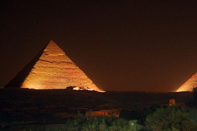 Pyramides de Gizeh - Son et Lumière